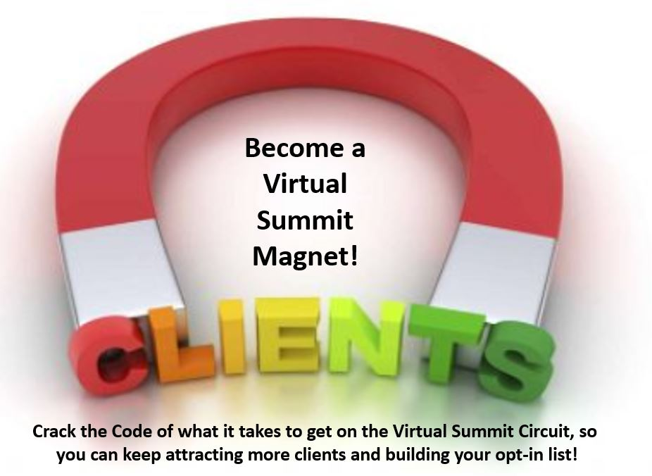 Become a Virtual Summit Magnet Training by Jackie Lapin